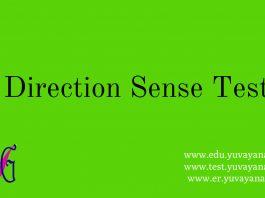 How to solve direction sense problem