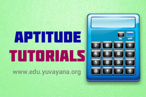 aptitude Tutorials from Yuvayana