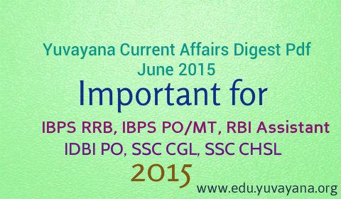 June 2015 current affaris pdf
