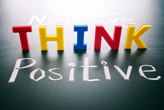 think positive to get success