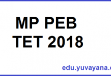 mp peb tet 2018 application form